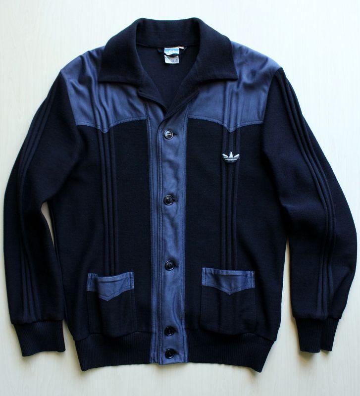 画像1:  ◆70sヴィンテージadidas【西ドイツ製】ジャガード織ジャケット