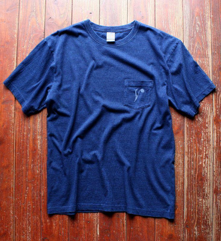 画像1: ◆Simple is Best ポケットTシャツ【ダークインディゴ】全国送料無料S・M・L・XLサイズ