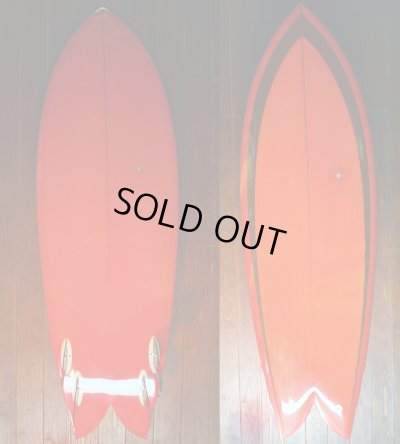 画像1: ■SALE■◆Chris Christenson QUAD FISH 5'7""
