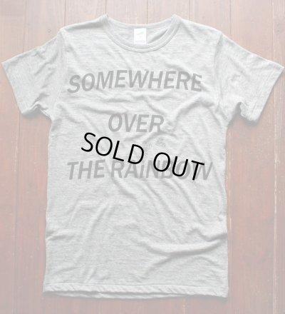 画像1: ◆VanvesRAINBOW Tシャツ【ヴィンテージヘザーグレー×黒】全国送料無料Mサイズ