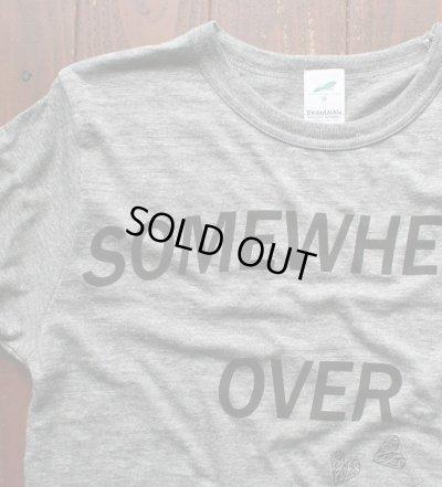 画像2: ◆VanvesRAINBOW Tシャツ【ヴィンテージヘザーグレー×黒】全国送料無料Mサイズ