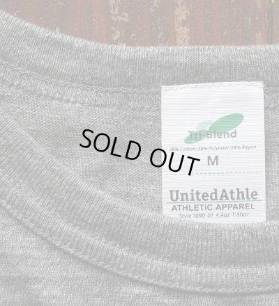 画像3: ◆VanvesRAINBOW Tシャツ【ヴィンテージヘザーグレー×黒】全国送料無料Mサイズ