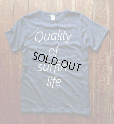 画像1: ◆QOSL Tシャツ限定!【ヘザーネイビー】XS・S・M・L・XLサイズ