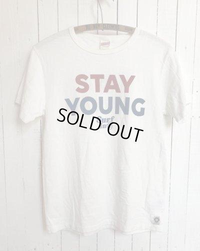 画像1:  ◆STAY YOUNG TEE (ホワイト) [L size]