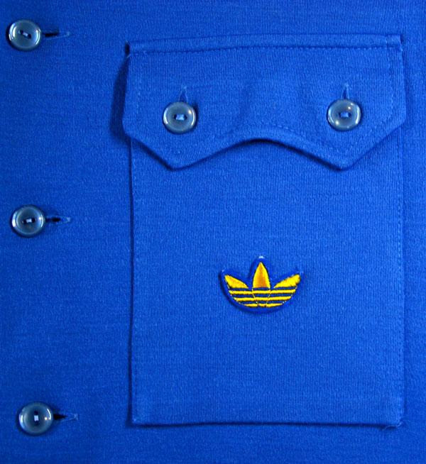 画像5:  ◆70sヴィンテージadidasニットジャケット【金ロゴ】