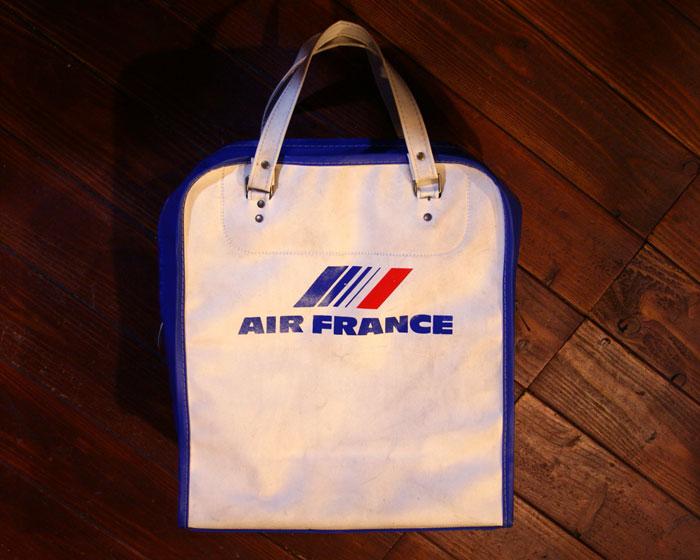 画像2: ◆70sヴィンテージAIR FRANCEエアラインバッグ