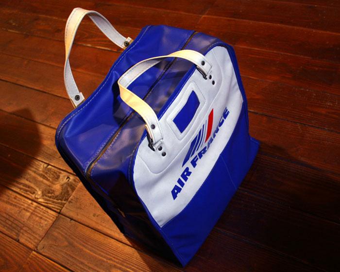 画像3: ◆70sヴィンテージAIR FRANCEエアラインバッグ