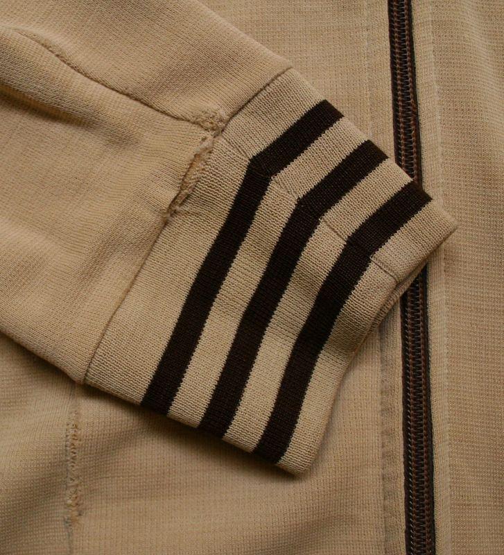 画像4:  ◆70sヴィンテージadidas【難有り】西ドイツ製ニットジャケット