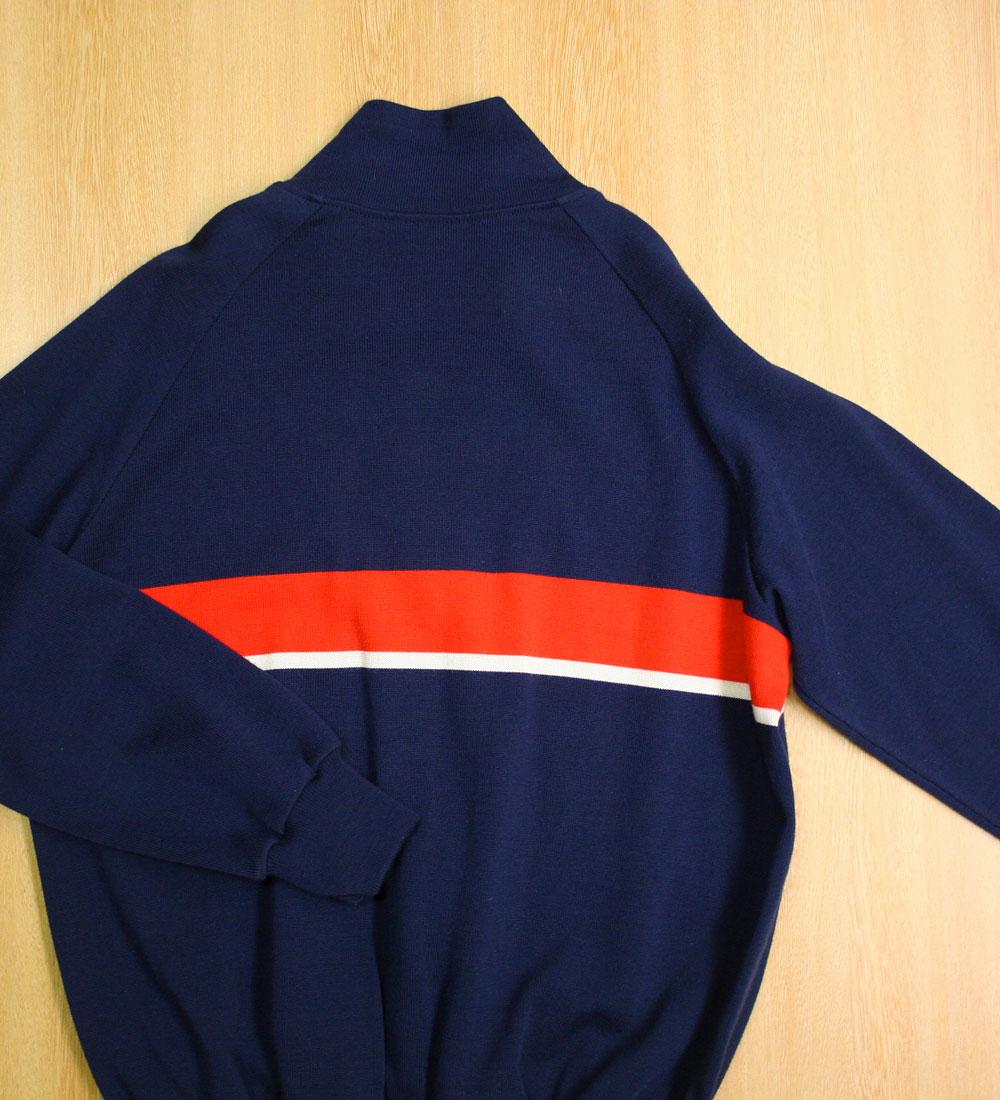 画像4:  ◆70sヴィンテージadidas【美品】ニットジャケット