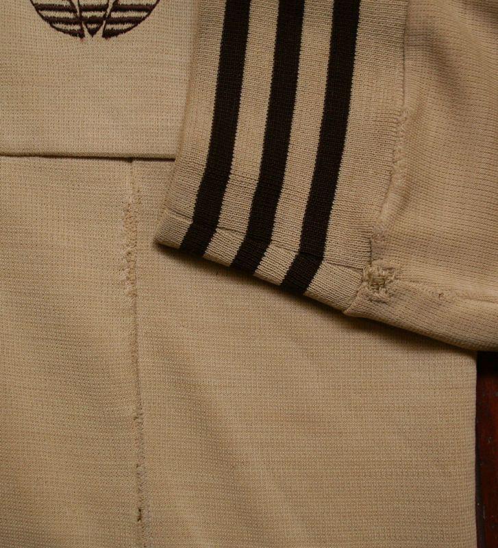 画像5:  ◆70sヴィンテージadidas【難有り】西ドイツ製ニットジャケット