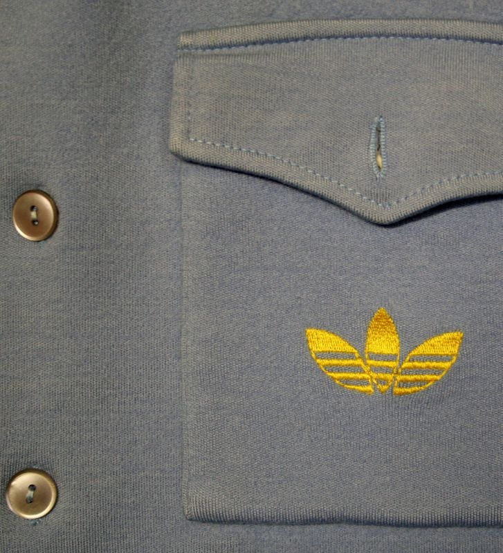 画像2:  SALE!!◆70sヴィンテージadidas【西ドイツ製】ボタンジャケット