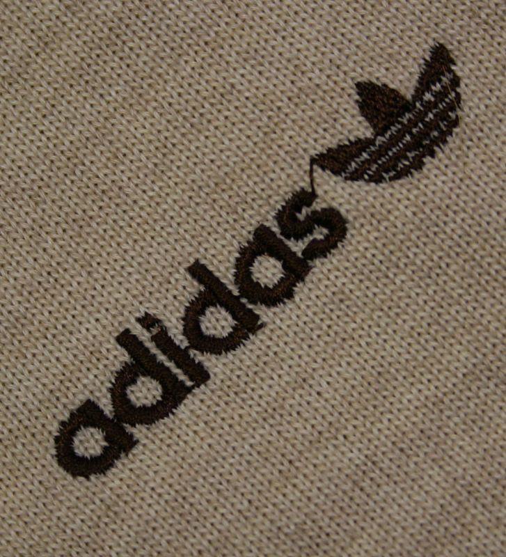 画像2:  ◆70sヴィンテージadidas【美品】ニットジャケット