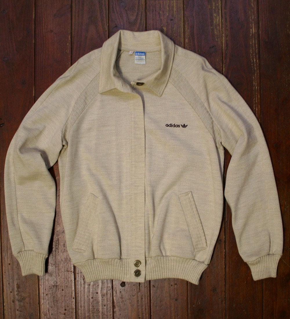 画像1:  ◆70sヴィンテージadidas【美品】ニットジャケット