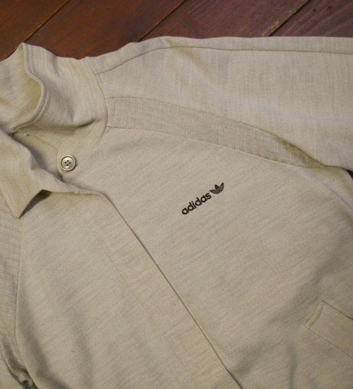 画像5:  ◆70sヴィンテージadidas【美品】ニットジャケット