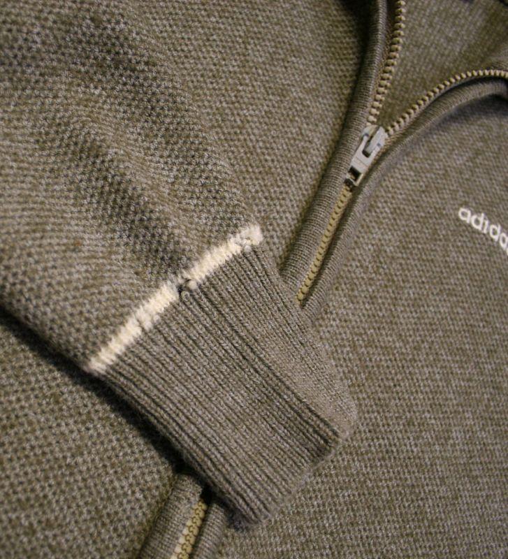 画像4:  SALE!!◆70sヴィンテージadidas【オーストリア製】ニットジャケット