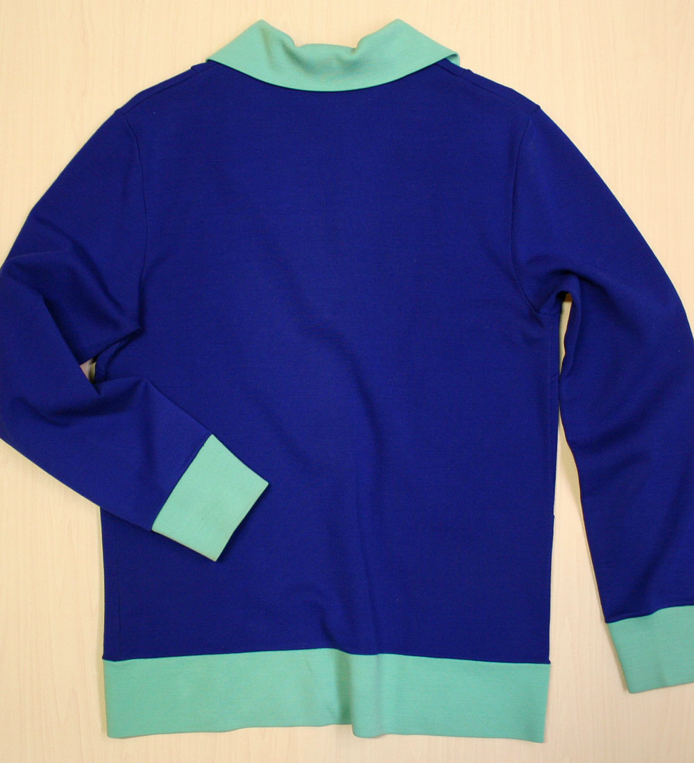 画像5: ◆70sヴィンテージadidas【レアカラー】Knit Jacket