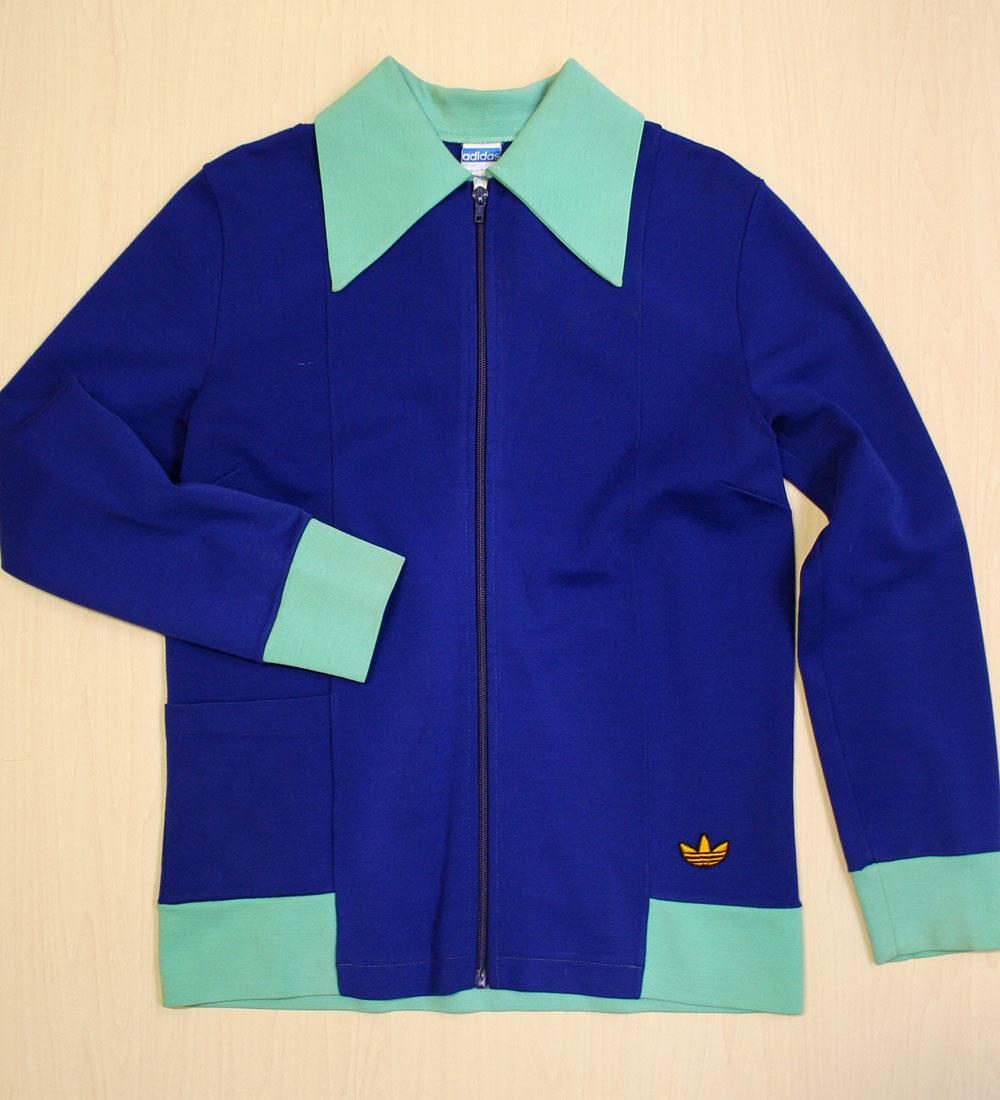 画像1: ◆70sヴィンテージadidas【レアカラー】Knit Jacket