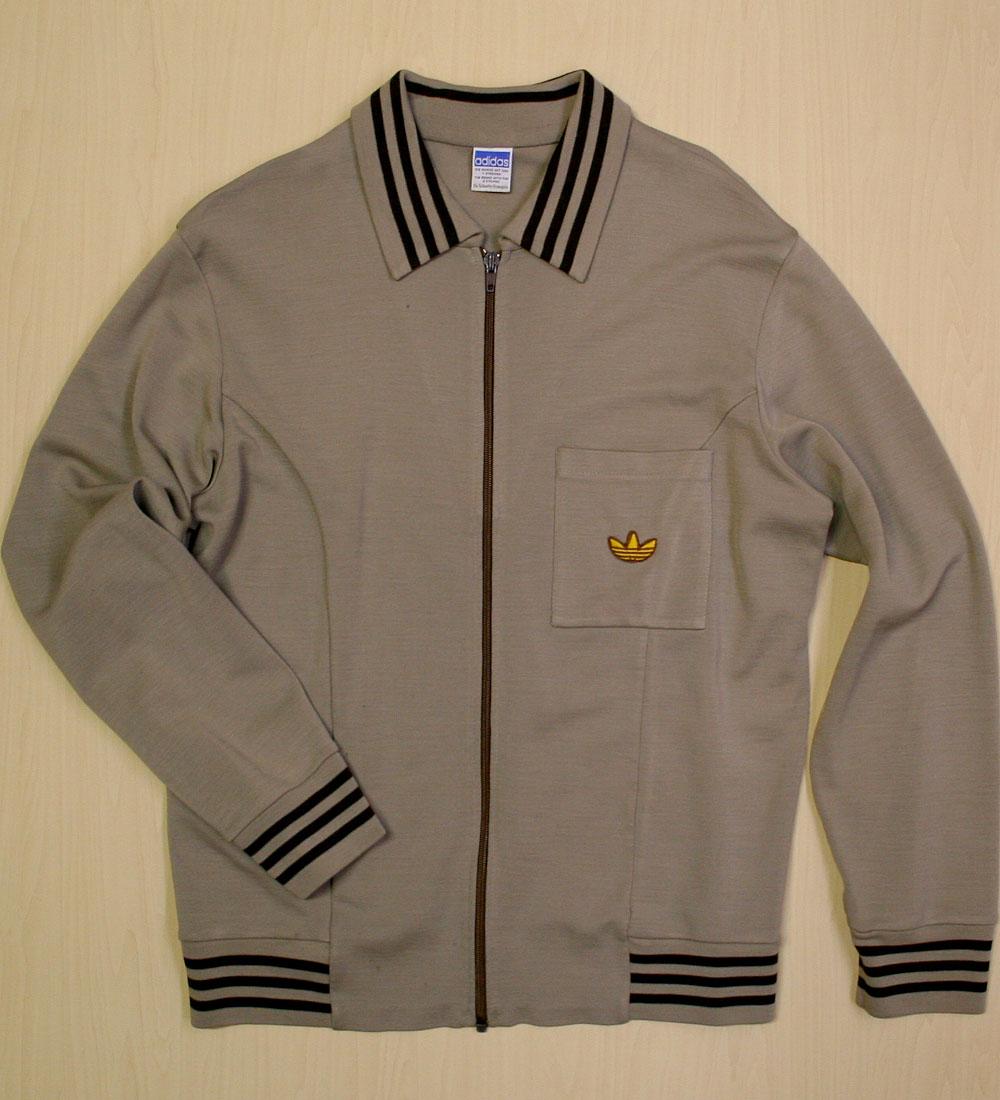 画像1:  ◆70sヴィンテージadidas【西ドイツ製】ニットジャケット