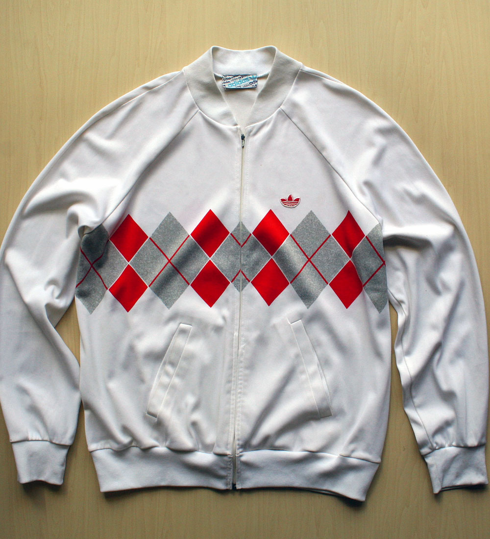 画像1: ◆70sヴィンテージadidas【Lendl collection】JogTop