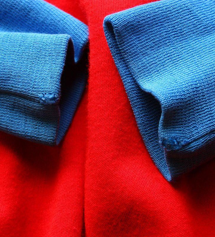 画像5: ◆70sヴィンテージPUMA【イタリア製】好配色ニットJKT