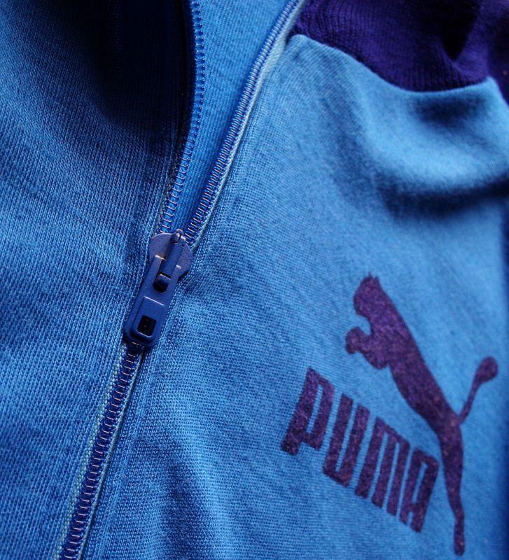 画像3: ◆70sヴィンテージPUMA【デカロゴ】イタリア製ニットJKT