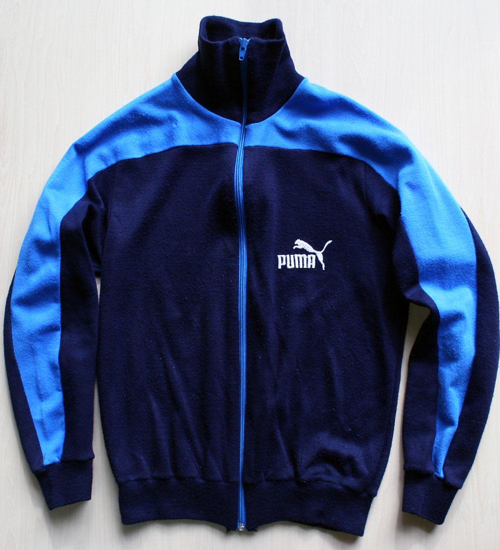 画像1: ◆70sヴィンテージPUMA【イタリア製】ニットスーツ