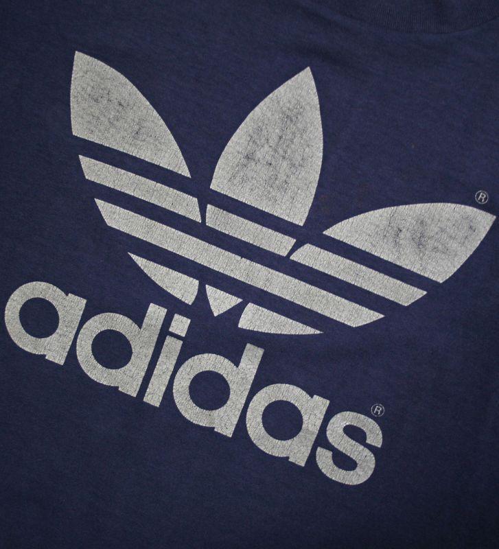 画像3: ◆70s adidas【アメリカ製】トレフォイルTee Lサイズ