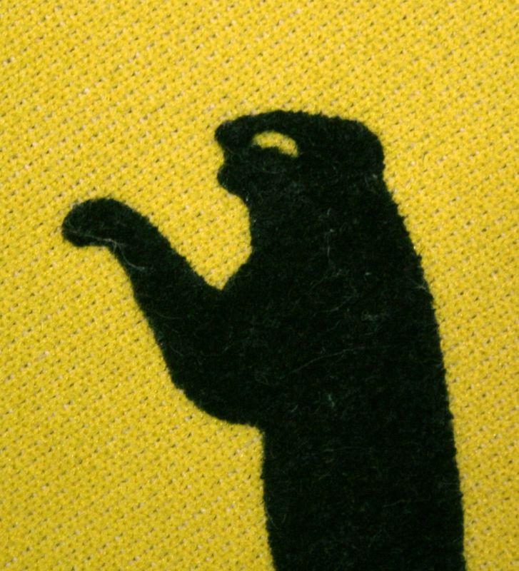 画像5: ◆70sヴィンテージPUMA西ドイツ製【ブルース・リーイエロー】目つきロゴ