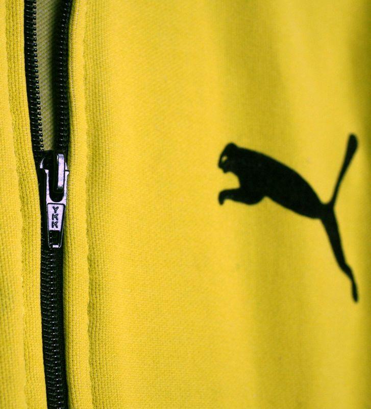 画像4: ◆70sヴィンテージPUMA西ドイツ製【ブルース・リーイエロー】目つきロゴ