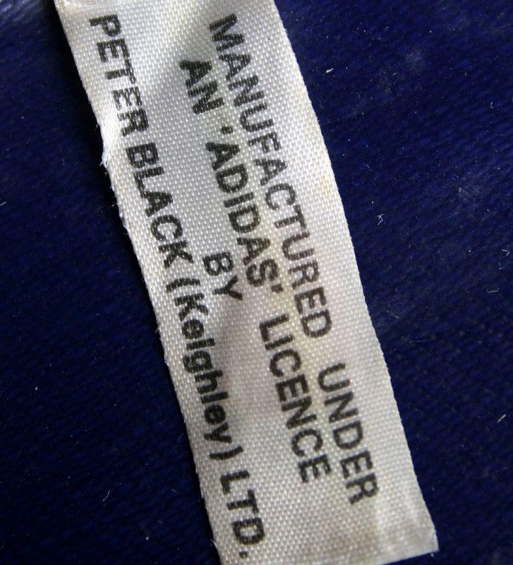 画像5: ◆70sヴィンテージadidas【希少】UK製PETER BLACK社ショルダー