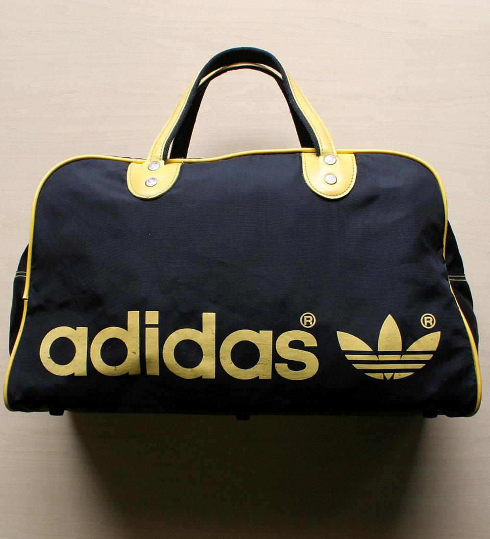 画像1: ◆70sヴィンテージadidas【TAIWAN製】Gym Bag