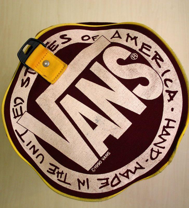 画像3: ◆ヴィンテージVANS【HAND-MADEアメリカ製】Duffle Bag