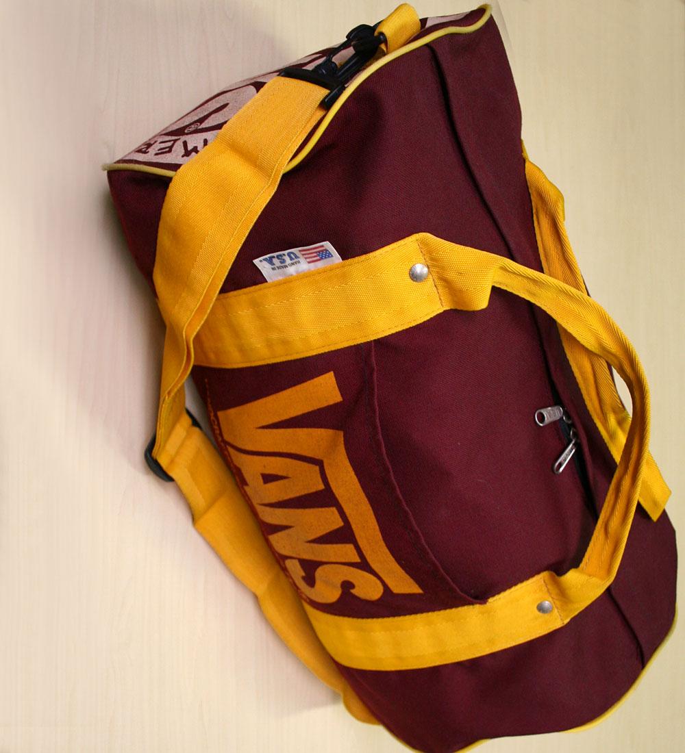 画像2: ◆ヴィンテージVANS【HAND-MADEアメリカ製】Duffle Bag