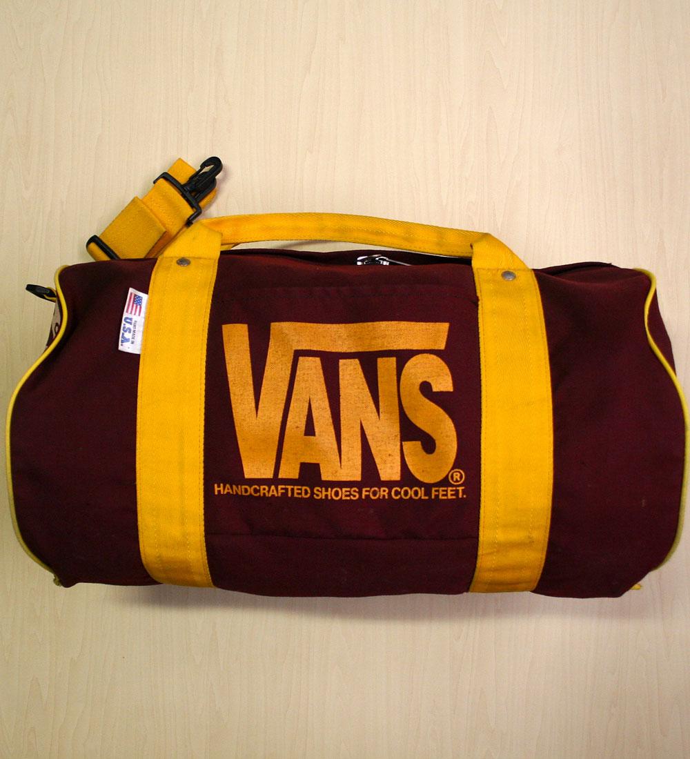 画像1: ◆ヴィンテージVANS【HAND-MADEアメリカ製】Duffle Bag