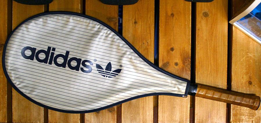 画像2: ◆70sヴィンテージadidasテニスラケットMUGNUM35