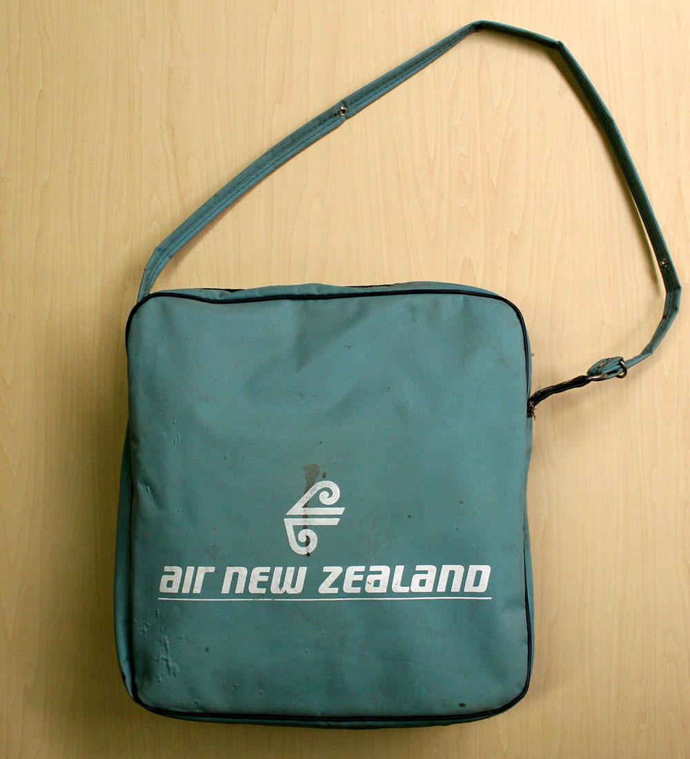 画像3: ◆70sヴィンテージair new zealand【希少】エアライン バッグ