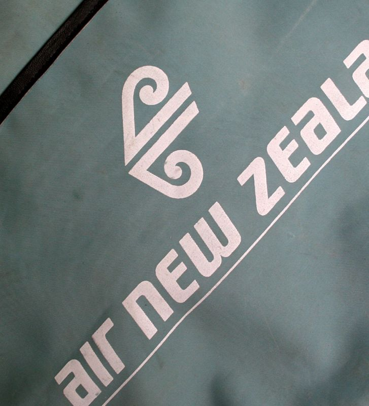 画像5: ◆70sヴィンテージair new zealand【希少】エアライン バッグ