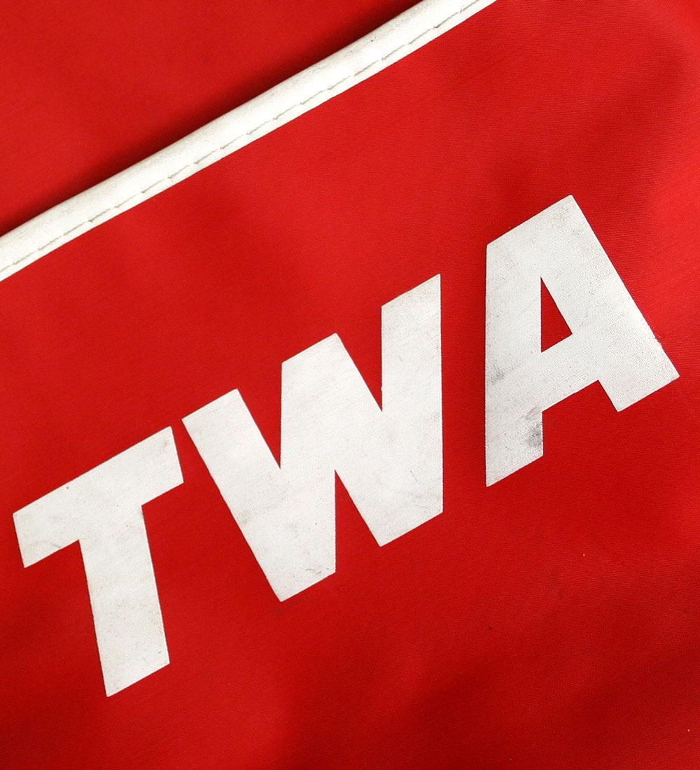 画像5: ◆70sヴィンテージTWA【希少】エアライン バッグ