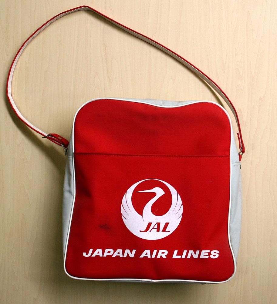 画像1: ◆70sヴィンテージJAL【希少】エアライン バッグ