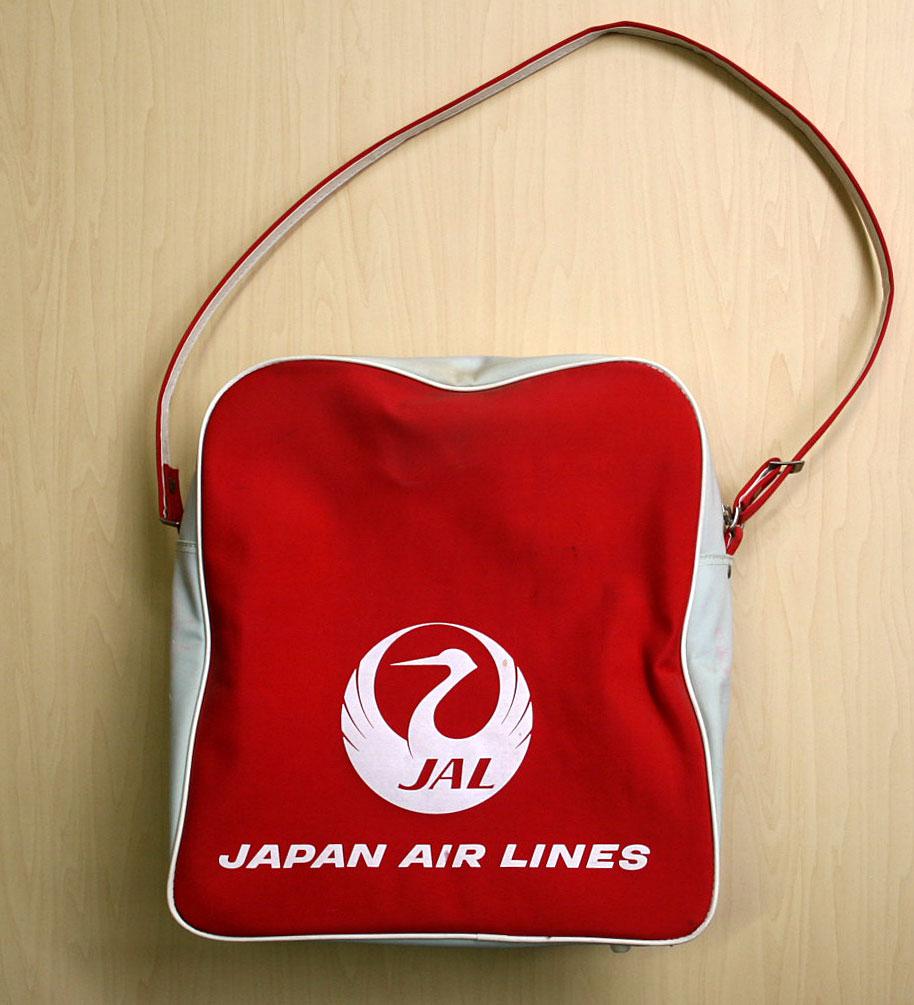 画像3: ◆70sヴィンテージJAL【希少】エアライン バッグ