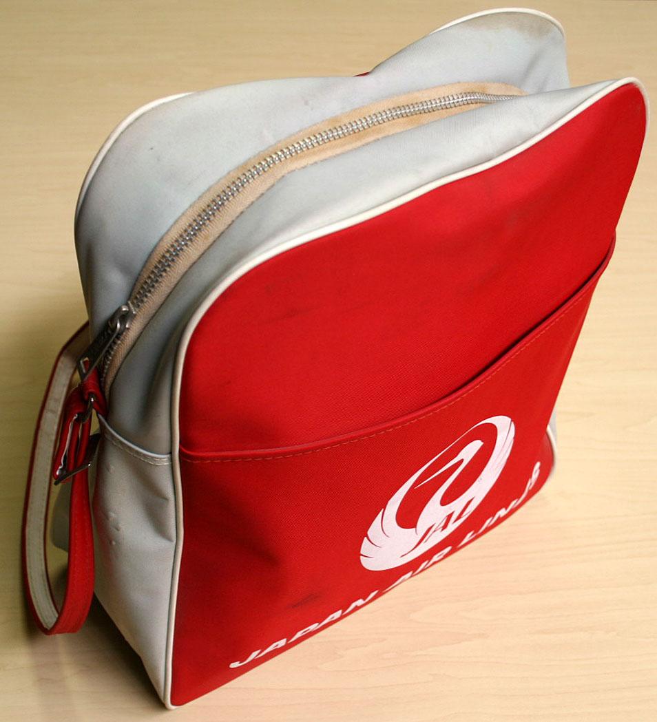 画像2: ◆70sヴィンテージJAL【希少】エアライン バッグ