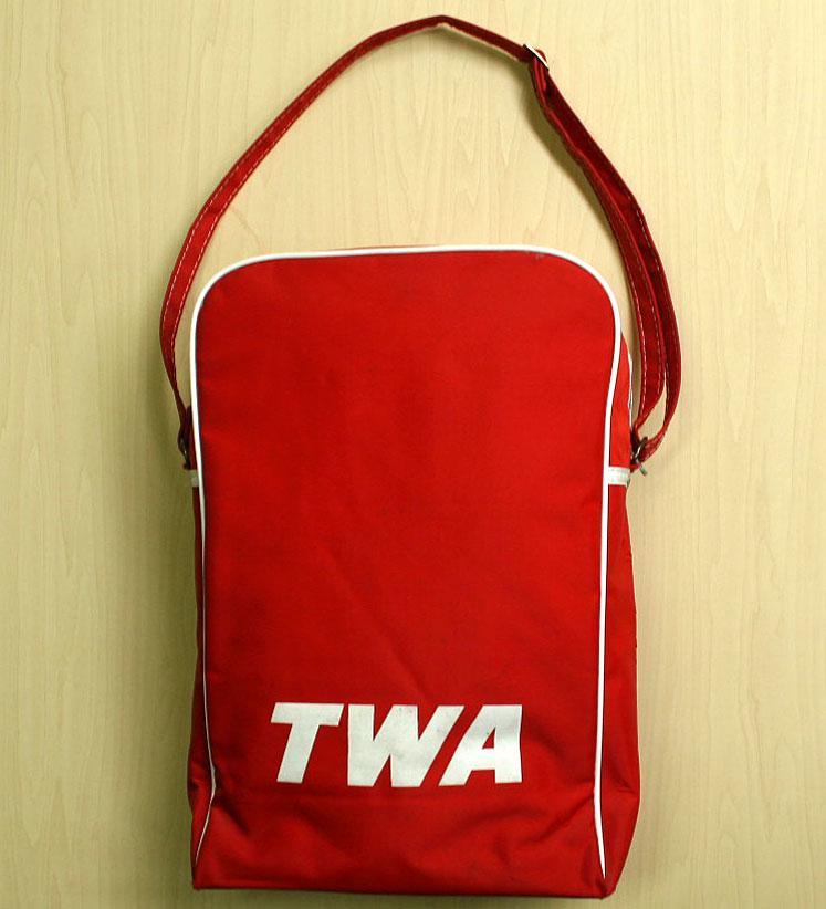 画像3: ◆70sヴィンテージTWA【希少】エアライン バッグ