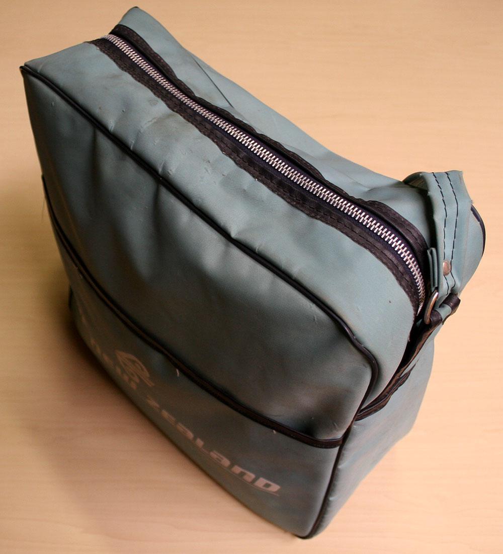 画像2: ◆70sヴィンテージair new zealand【希少】エアライン バッグ