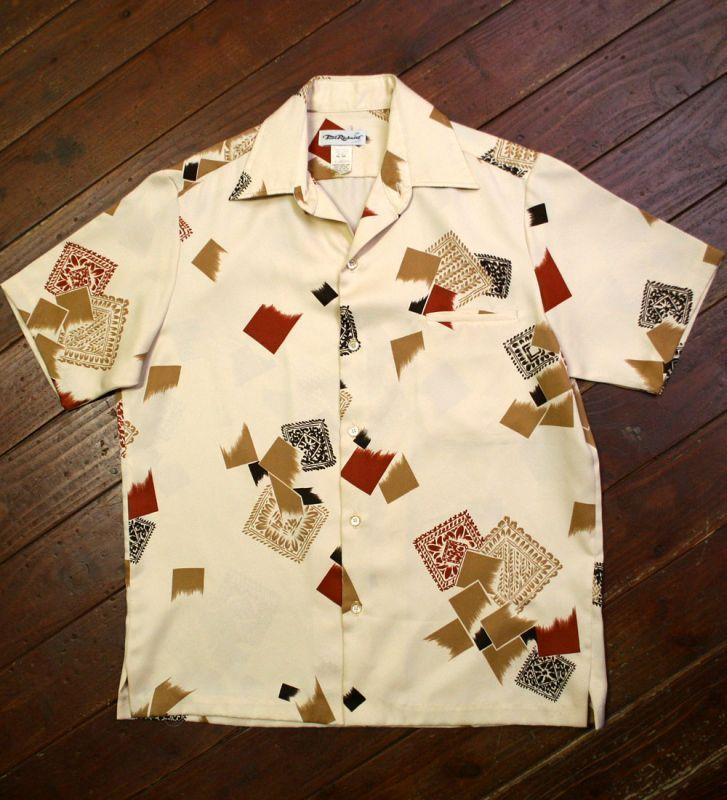 画像1: ◆Vintage アロハシャツ【made in USA】 Mサイズ