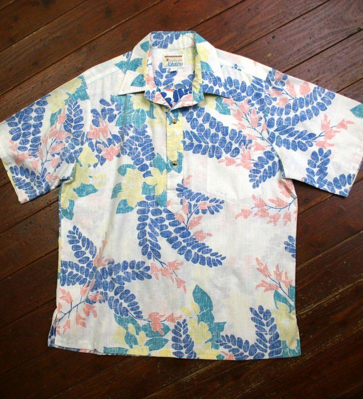画像1: ◆Vintage レインスプーナー【made in HAWAII】 Lサイズ
