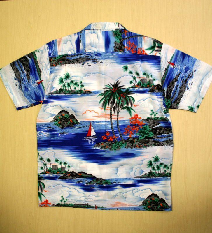 画像3: ◆Vintage アロハシャツ【made in HAWAII】 MLサイズ
