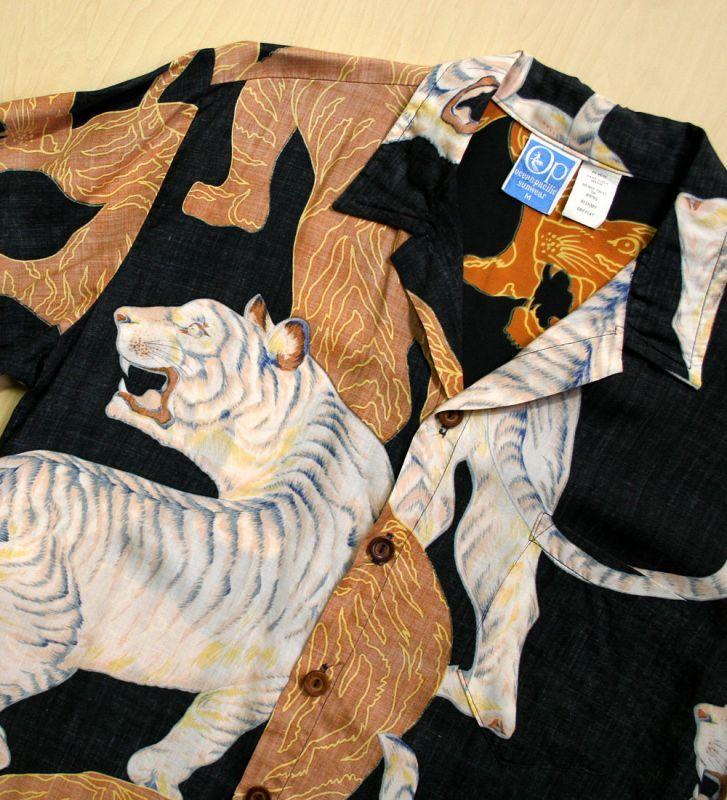 画像4: ◆Vintage アロハシャツ【OCEAN PACIFIC】 Mサイズ