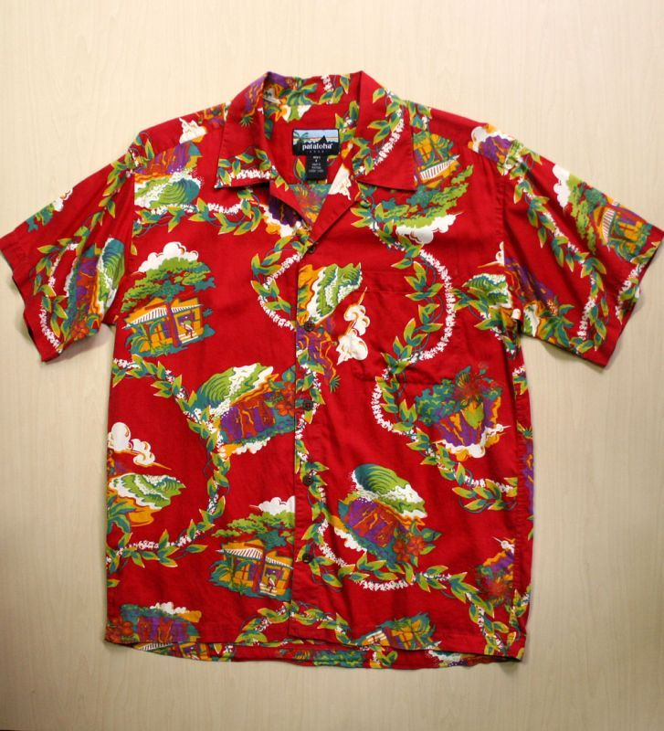画像1: ◆Vintage アロハシャツ【Pataloha】 Mサイズ