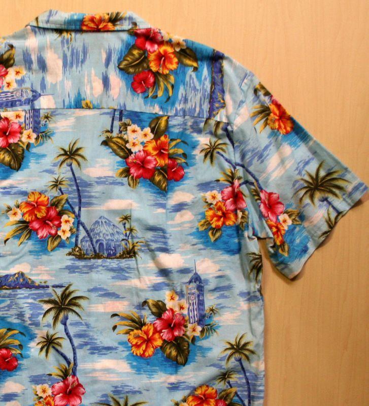画像3: ◆Vintage アロハシャツ【made in HAWAII】 Lサイズ