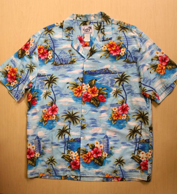 画像1: ◆Vintage アロハシャツ【made in HAWAII】 Lサイズ
